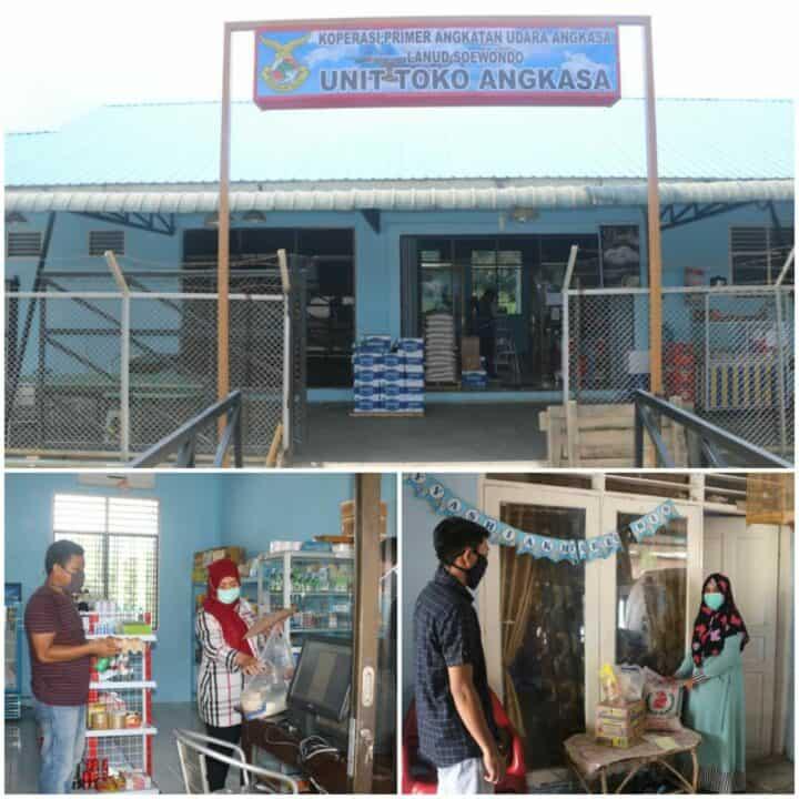 Primkopau Lanud Soewondo Terus Berinovasi Hadirkan Program Delivery Order Bagi Personel TN AU di Medan