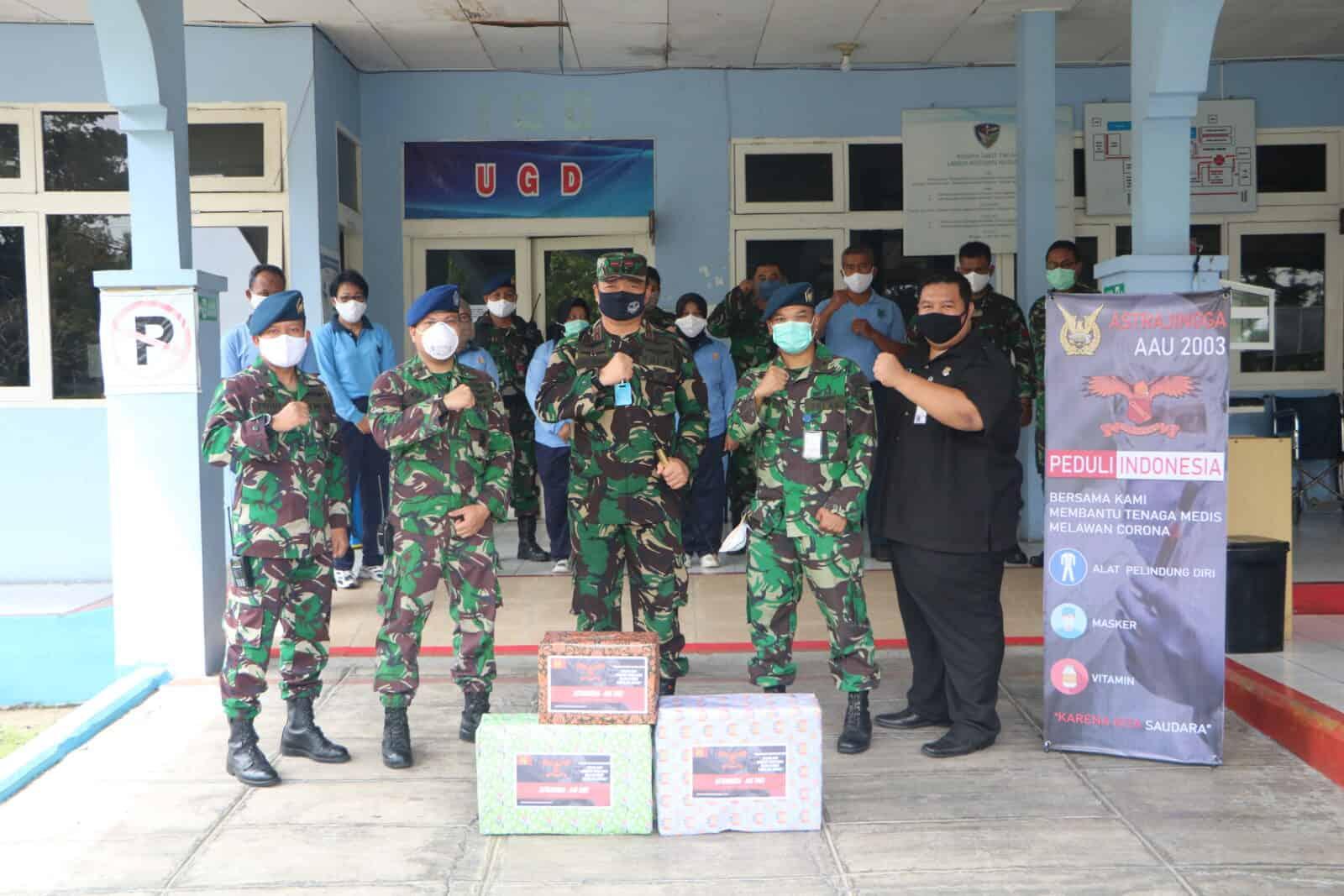 Astrajingga AAU 2003 Bantu Para Medis Rumkit dr.Sukirman Lanud Rsn