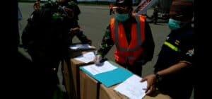 Tahap Tiga APD Tiba di Gorontalo Menggunakan Pesawat TNI AU