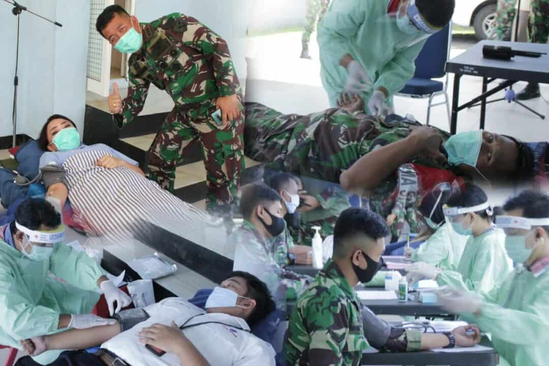Wagub Sulut Ikut Menyumbangkan Darah di Lanud Sam Ratulangi