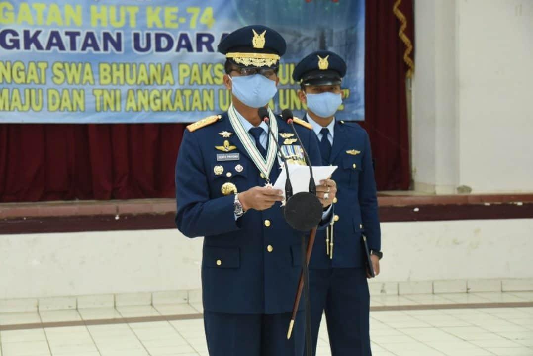 Kasau : TNI AU Akan terus Berjuang Digaris Depan.