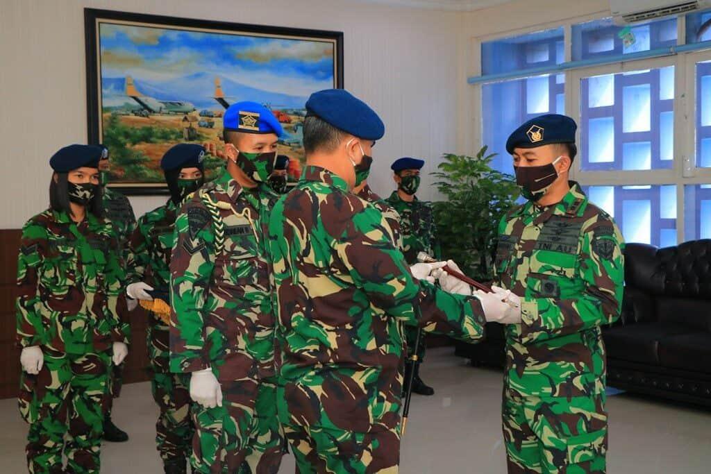 Letkol Pnb Heru Wardhana, S.Sos., Jabat Komandan Skadron Udara 21 Lanud Abd Saleh