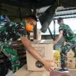 240 Box (12.000 Pcs) APD Tiba di Lanud Sultan Hasanuddin, Siap Didistribusikan