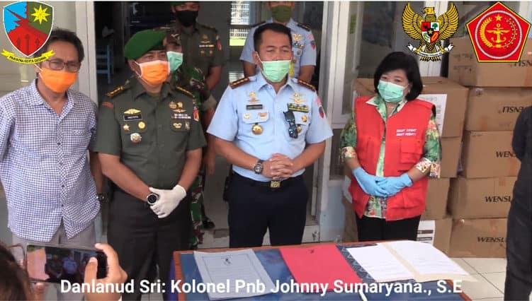 Pendistribusian APD dan Masker Masker Untuk Sulawesi Utara
