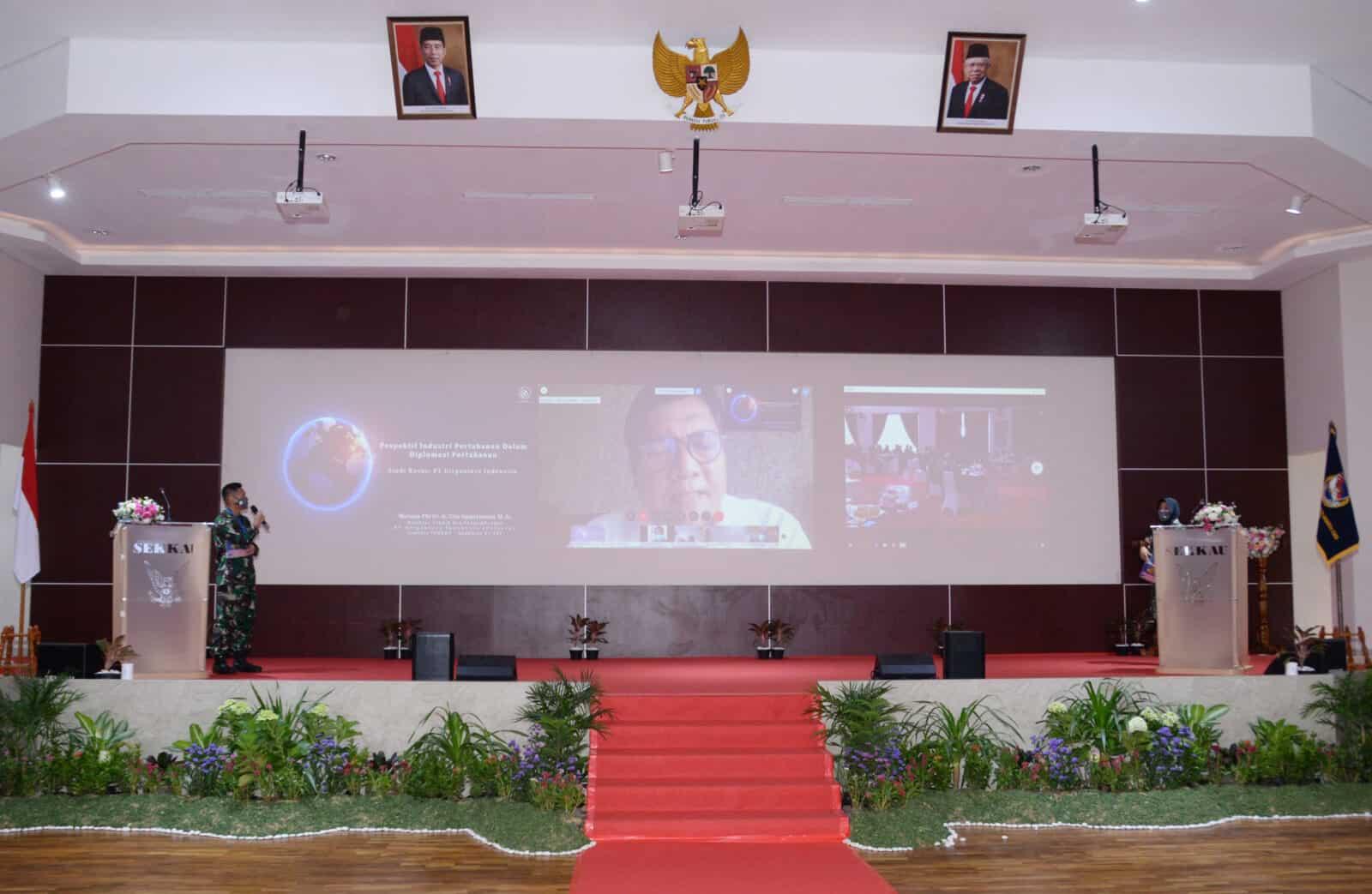 Pasis Sekkau A-107 Gelar Seminar Online