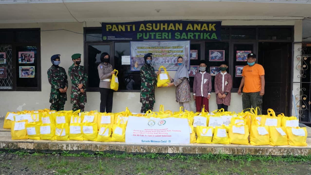 Bantuan Sosial Kemanusiaan ke Panti Asuhan dan Ponpes