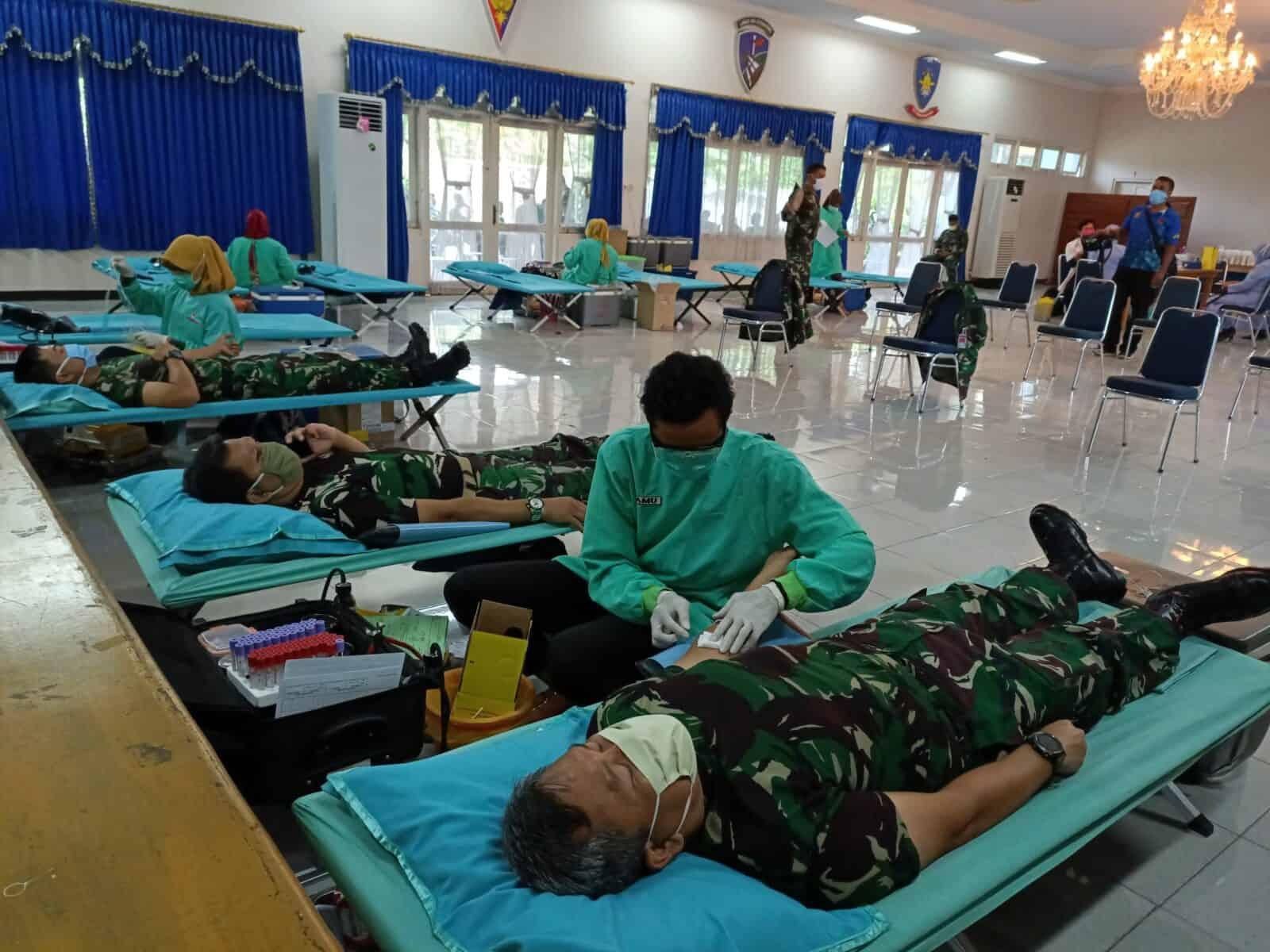 Bantu Stok Darah PMI di tengah wabah Covid-19, Lanud Adi Soemarmo gelar Donor Darah
