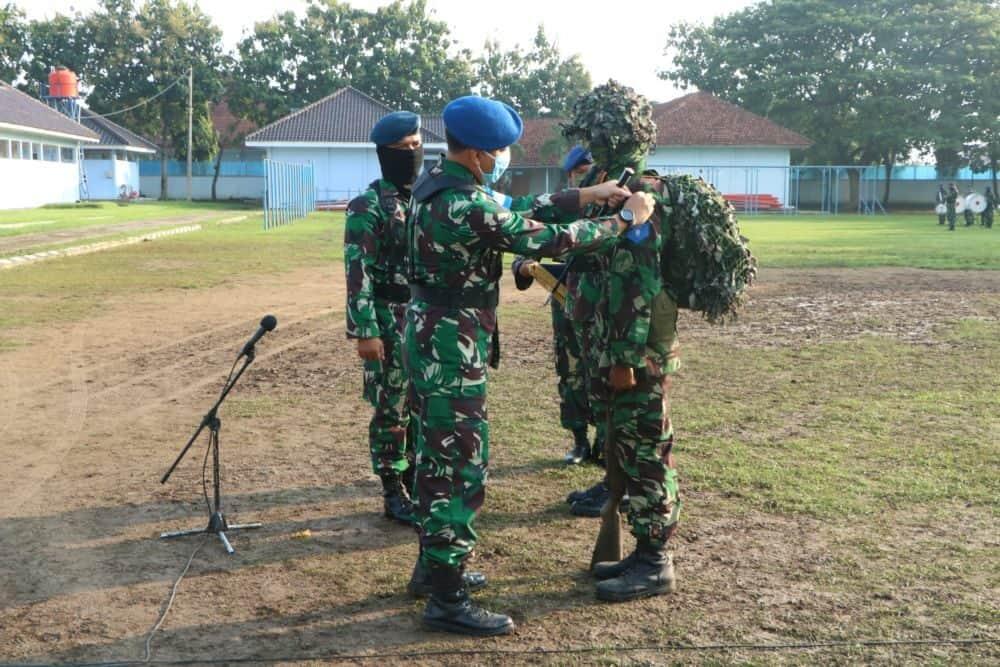 Komandan Skadik 403 Lanud Smo Tutup Latganda Semaba PK Pria TNI AU A-45