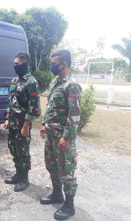 Dua Personel Terbaik Lanud Soewondo Melaksanakan Tugas ke RSK Infeksi Covid-19 di Pulau Galang