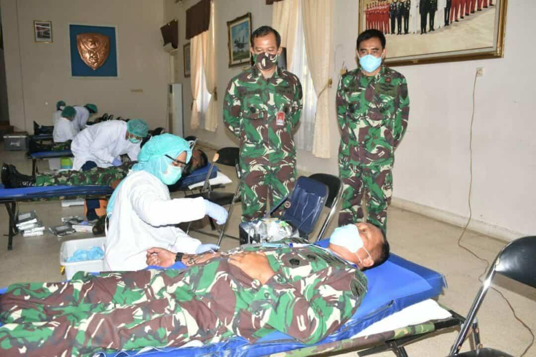 Bakti Sosial HUT ke-74 TNI AU, Lanud Adisutjipto Gelar Donor Darah
