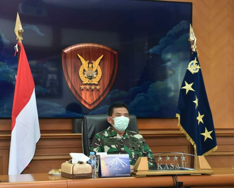 Kasau: TNI AU Dukung Penuh Penanganan Covid-19