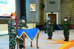 KASAU PIMPIN SERTIJAB DAN RESMIKAN SATUAN BARU TNI AU