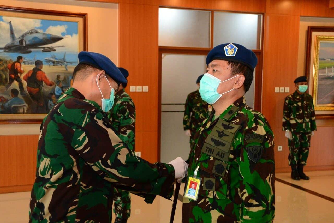 Kodiklatau Laksanakan Sertijab Ditengah Pandemi Covid-19