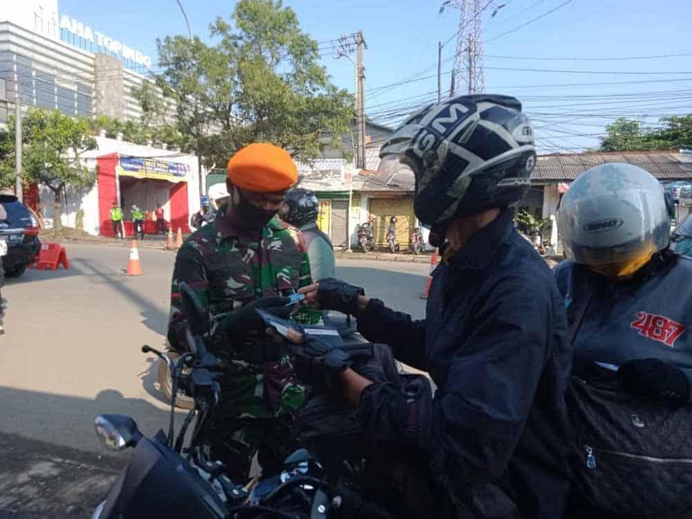 Pusdiklat Paskhas Bantu PSBB Wilayah Bandung