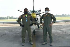 Lanud Adisutjipto tetap laksanakan tugas pokok latihan penerbangan