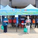 Peringati HUT Ke-74 TNI AU, Koopsau I dan PIA Ardhya Garini D. I Koopsau I Gelar Bakti Sosial