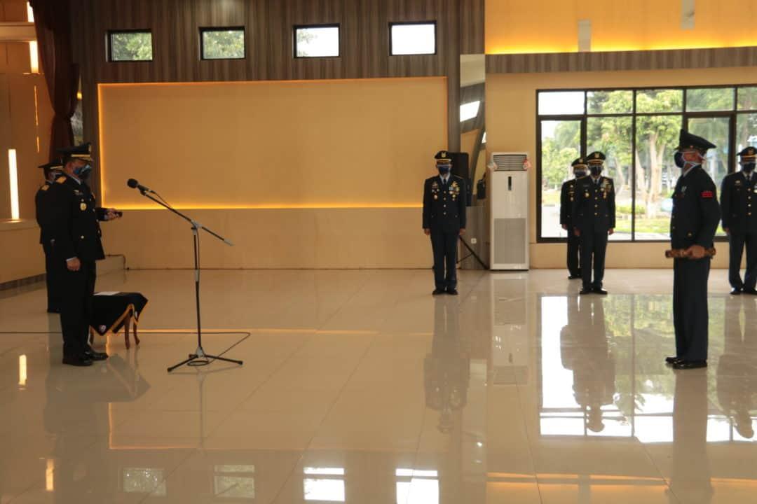 Peringatan HUT ke-74 TNI Angkatan Udara di Koopsau I