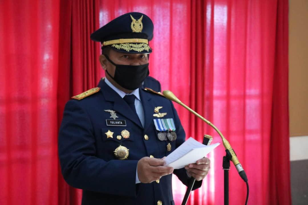 Upacara Peringatan HUT TNI AU Ke – 74 di Kosekhanudnas II