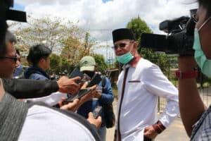 Ribuan APD dan Masker Tiba di Baseops Lanud Raja Haji Fisabilillah