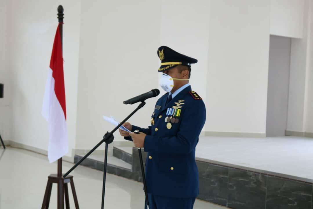 Upacara Peringatan HUT TNI AU ke-74 di Lanud YKU Timika Digelar Sederhana