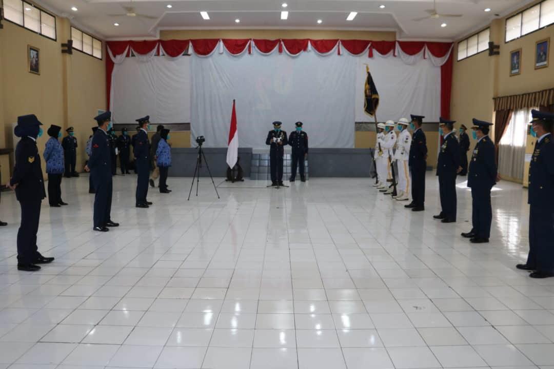 PERINGATAN HUT KE-74 TNI AU DI LANUD MULJONO SURABAYA