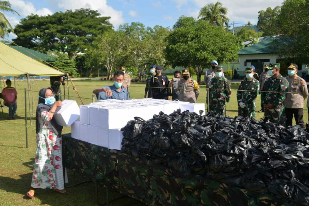 Danlanud Pattimura Hadiri Baksos Sinergitas TNI-Polri Maluku
