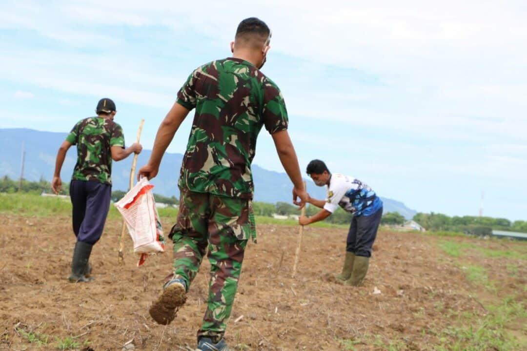 Danlanud Sim Ajak Personelnya Untuk Melaksanakan Program Ketahanan Pangan