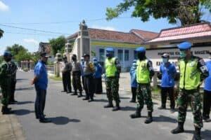 Bantu Pemerintah Daerah, Lanud Iswahjudi Tugaskan Sejumlah Personel di Posko Terpadu Covid-19.