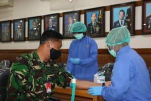 Rapid Test Covid-19 bagi Personel Lanud Iswahjudi dan Insub