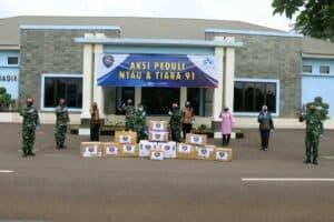 Lawan Covid-19, Alumni AAU 1991 Sumbang A