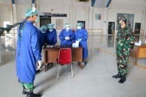 Deteksi Covid-19, Personel Lanud Iswahjudi, Insub dan PIA AG Ikuti Rapid Test
