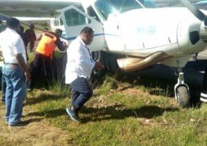 Kunjungan Pangdam XVII/Cenderawasih dan Kapolda Papua di Bandara Enarotali