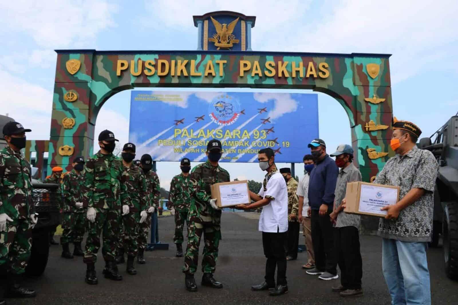 Aksi Peduli Sosial Covid-19 Palaksara AAU 93 Wilayah Bandung