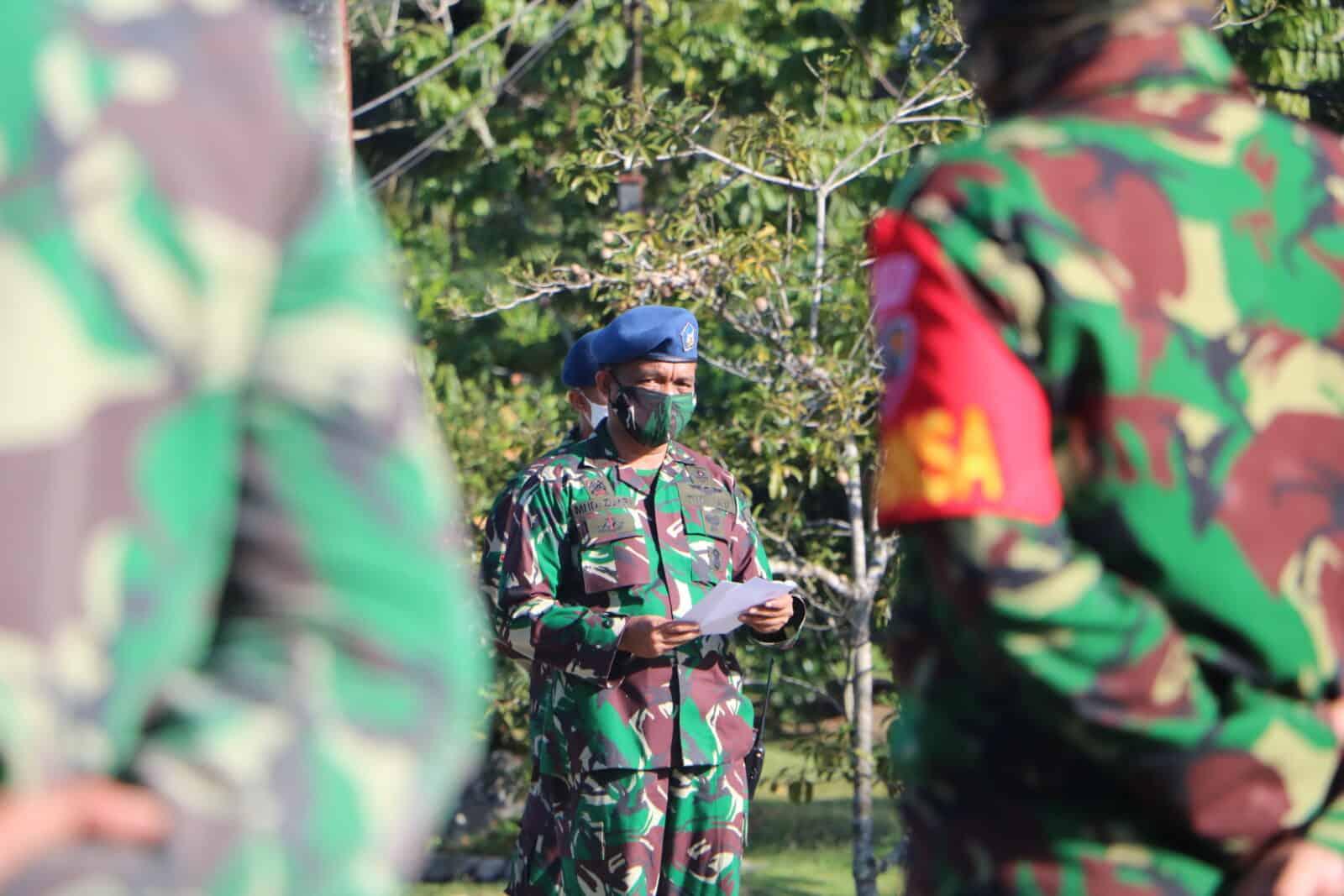 Kasum TNI: Dimasa Covid-19 TNI Tunjukan Semangat, Loyalitas, Dedikasi dan Sinergitas