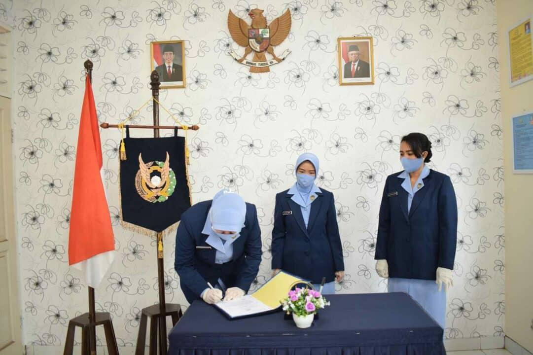 Serah Terima Jabatan Wakil Ketua PIA Ardhya Garini Cabang 2/G. IV Wing I Paskhas