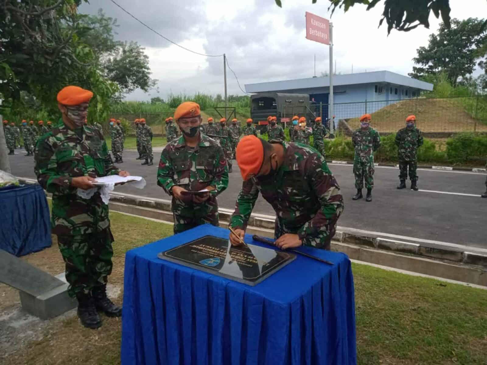 Wing III Paskhas dan Jajaran Kembali Salurkan Bantuan Ditengah Pandemi Covid-19