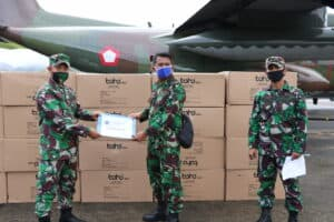 Dukungan APD Untuk Provinsi Maluku Terus Datang, Ini Yang Ke-Delapan