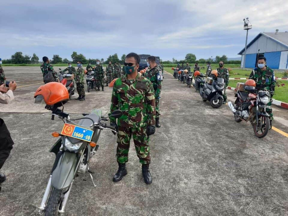 Sinergitas TNI Polri peduli Covid-19 di Wilayah Aceh Besar