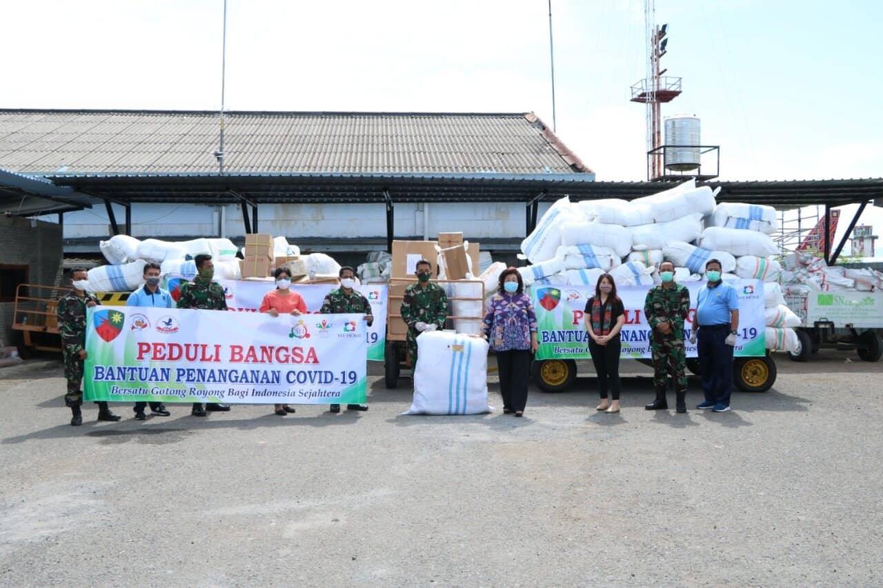 Sejumlah RS di Sulawesi dan RS Bagian Timur Indonesia Menerima Bantuan APD dari PMKIT