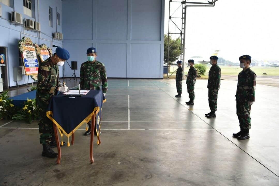 Tiga Pejabat Lanud Halim Perdanakusuma Diserah Terimakan
