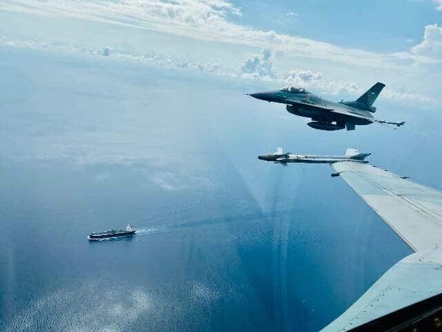 Ditengah Covid-19, F-16 Tetap Amankan Wilayah ALKI I