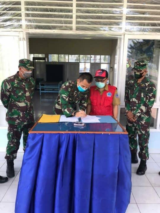 Kembali Tiba Bantuan APD di Lanud Sam Ratulangi