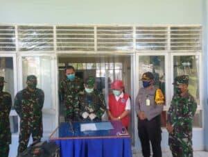 Ribuan APD Kembali Diserahterimakan Komandan Lanud Sam Ratulangi