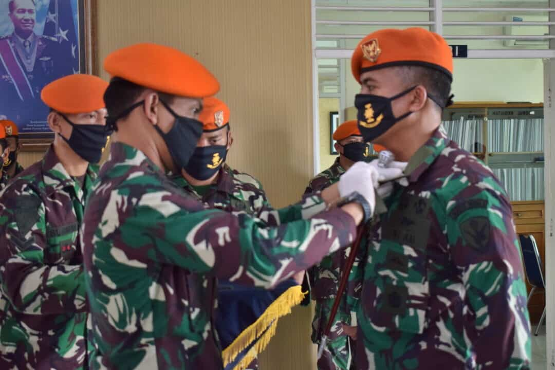 Serah Terima Jabatan Wakil Komandan Wing I Paskhas