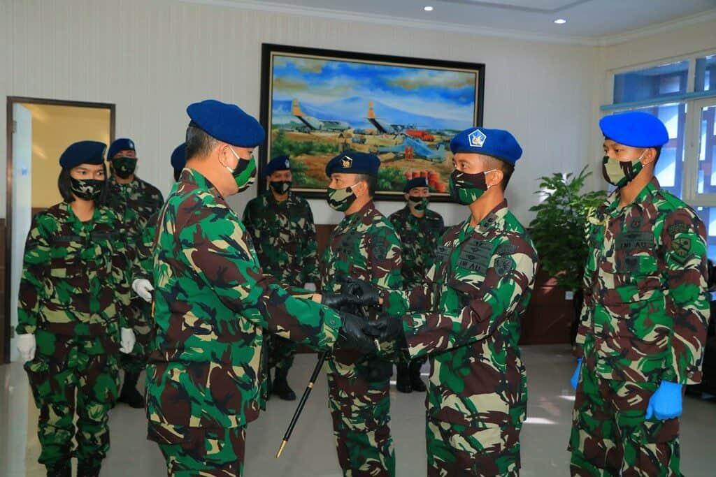 Letkol Pnb M Arif S.Sos., Jabat Komandan Skadron Udara 4 Lanud Abd Saleh