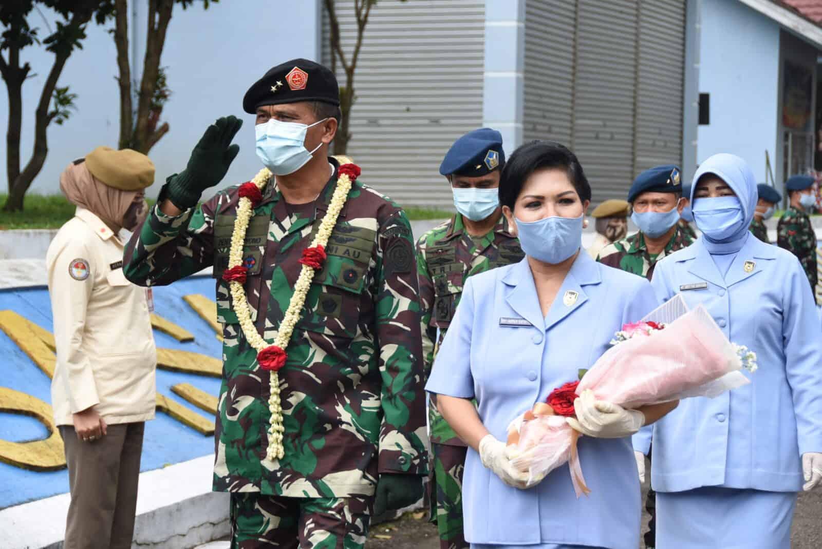 Marsda TNI Dento Priyono Pamit Melaksanakan Tugas Baru.