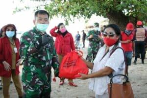 Danlanud Sam Ratulangi Bersama Forkopimda Mendampingi Gubernur Sulut Baksos Tiga Pulau