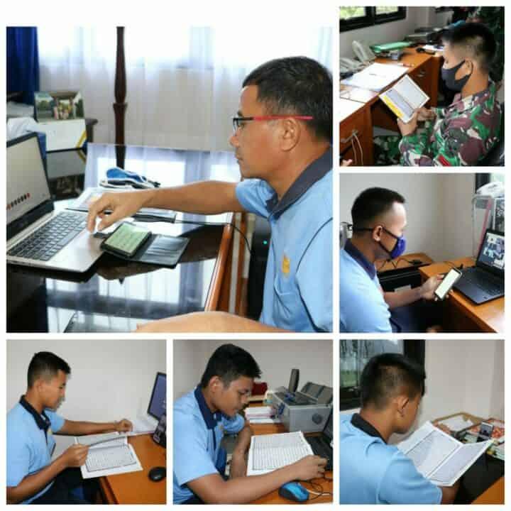 Prajurit Lanud Pattimura Tetap Tadarusan Al-Quran di Tengah Pandemi Covid-19