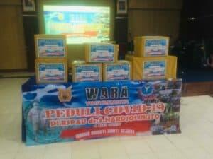 Peduli Covid 19, Wara Yogyakarta laksanakan bakti sosial pemberian APD di RSPAU Hardjolukito