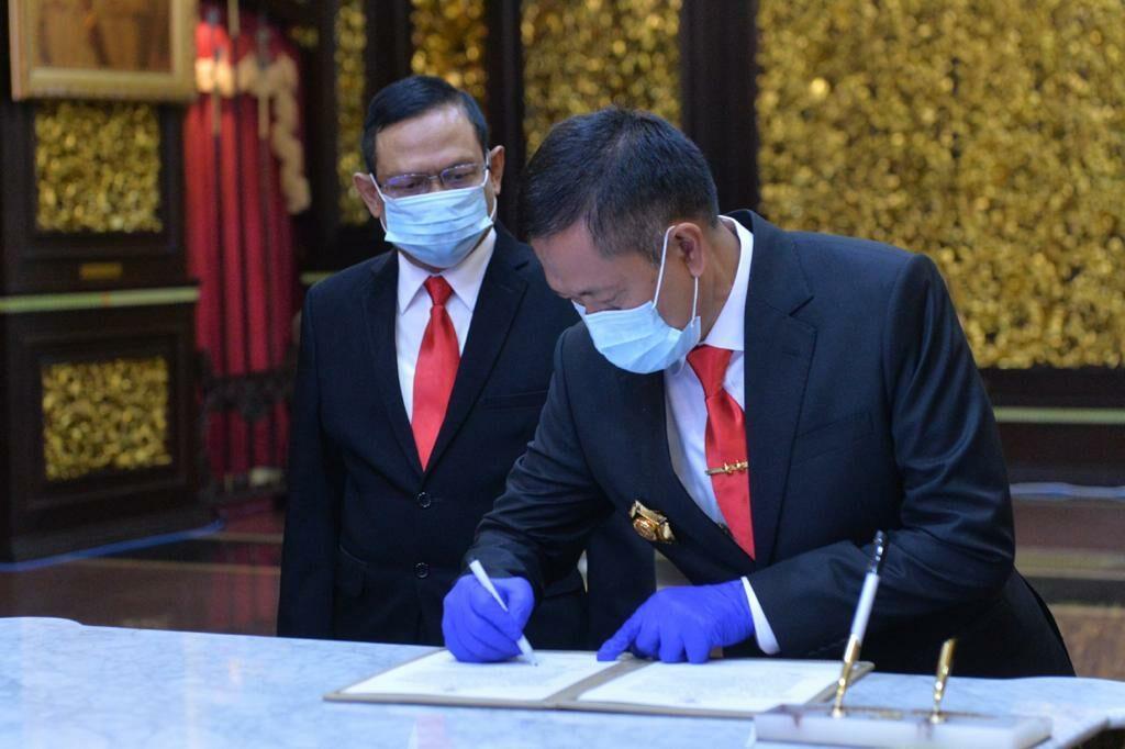 MARSDA TNI DONNY ERMAWAN T., M.D.S., JABAT SEKRETARIS JENDERAL KEMENTRIAN PERTAHANA